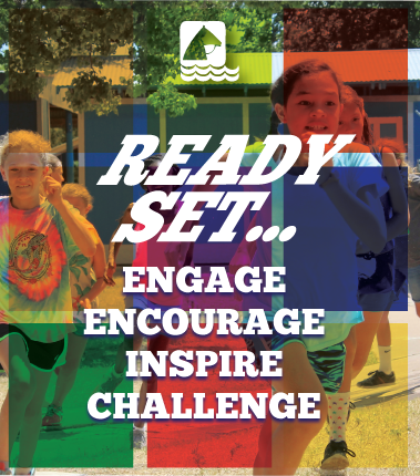 Register for Camp. Engage, encourage, inspire, challenge...