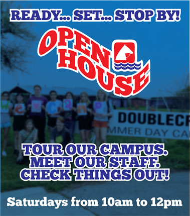 Open House - Tour our campus. Meet out staff. Check things out! Saturdays from 10am to 12pm